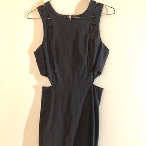 NWT cutout black dress